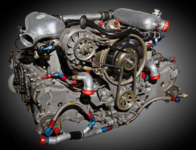 Porsche 935 engine