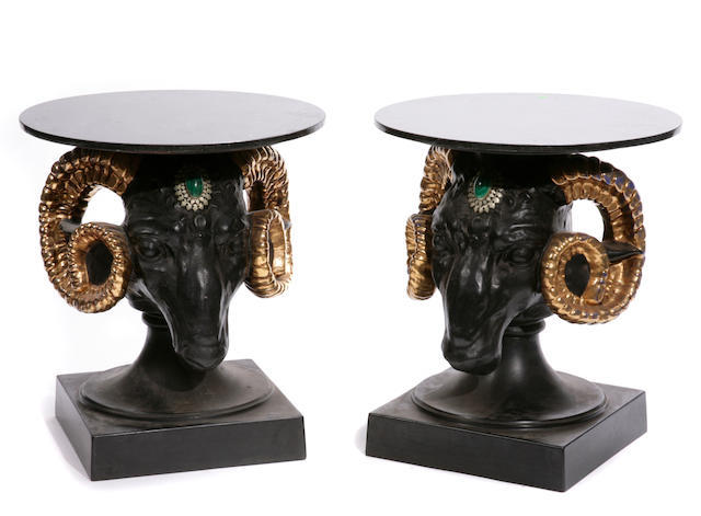 A pair of Neoclassical style tables