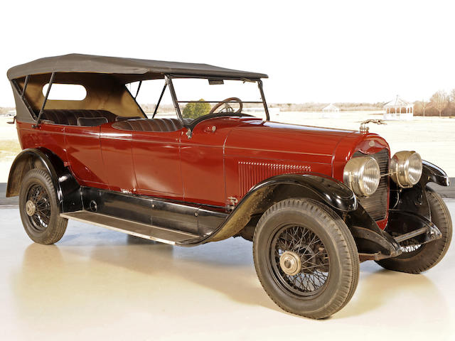 1923 Lincoln Model L 7-Passenger Touring Car  Chassis no. 11186