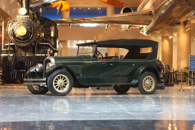 1924 Marmon Model 34 Touring with California Top  Chassis no. C85356 Engine no. 2610A