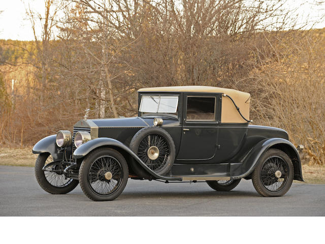 1925 Rolls-Royce 20hp Two Door 'Landau' Coupe  Chassis no. GNK 66