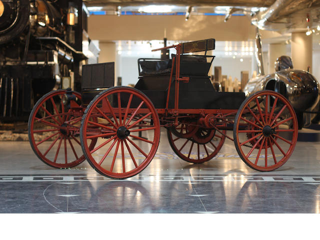 1910 Sears Model G Runabout  Chassis no. 1753