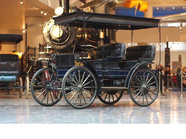 1910 Sears Model P Four Passenger Motorbuggy  Chassis no. 2321