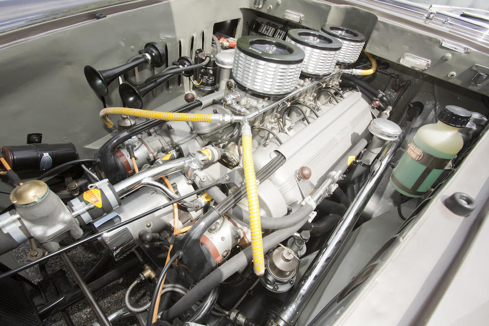 The one-off, 1954 New York Auto Show,1953 Ferrari 250 Europa Coupé  Chassis no. 0313 EU Engine no. 0331 EU