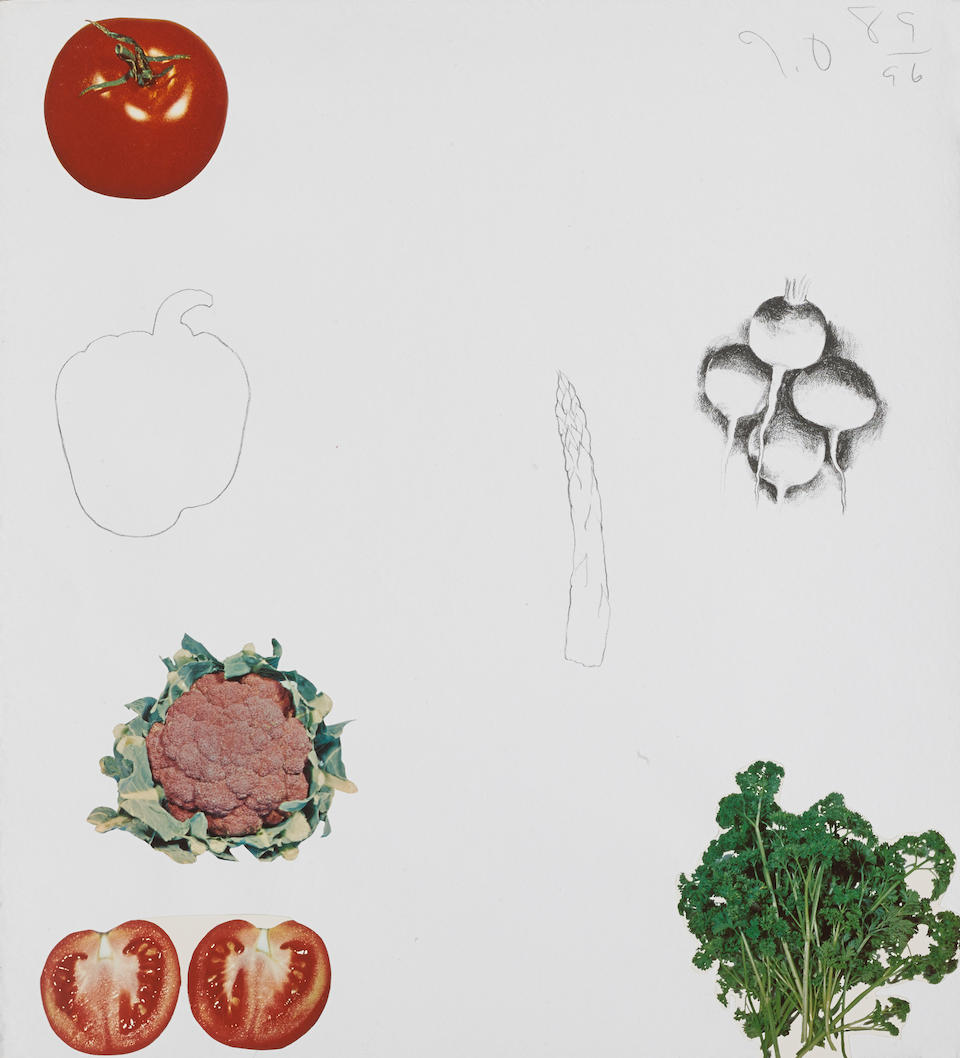 Jim Dine (born 1935); Vegetables; (8)
