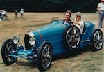 The prototype and Bugatti Works entry   at the 1924 Grand Prix de Lyon,   ex-Sir Robert and Lady Bird, Col. G. Giles and Henry Haga , 1924   Bugatti   Type 35 Grand Prix   Chassis no. 4323