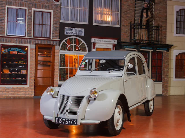 From a prominent European Collection,1956 Citroen 2CV  Chassis no. 312695