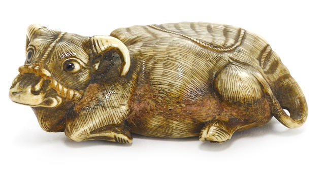 Two netsuke Late Edo/Meiji period (19th century)