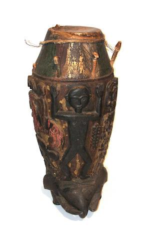 An Akan drum