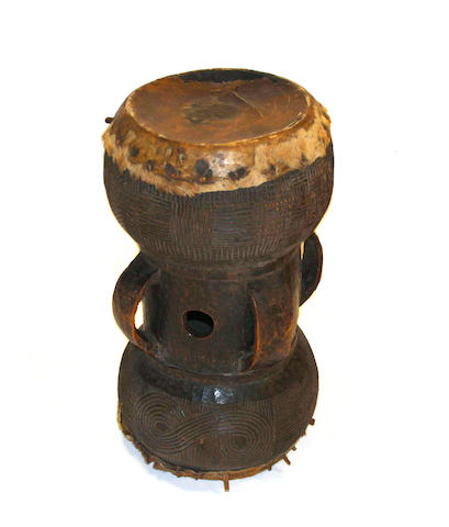 A Chokwe drum