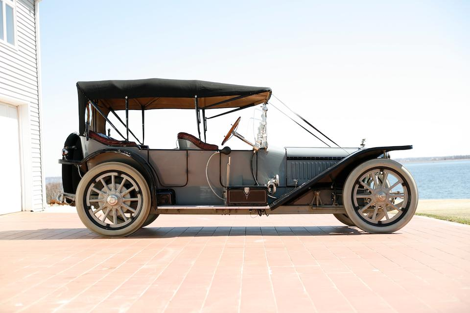 Ex-Harrah's Auto Collection, one of only three known ,1914 American Underslung Model 644 Four-Passenger Touring  Chassis no. DR134479