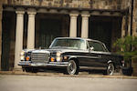 1970 Mercedes-Benz 280SE 3.5 Coupé  Chassis no. 111026.12.001918 Engine no. 116980.12.001680
