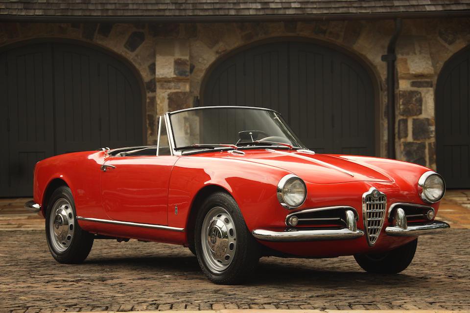 1961 Alfa Romeo Giulietta Spider  Chassis no. AR 10103 171827 Engine no. AR 0010229591