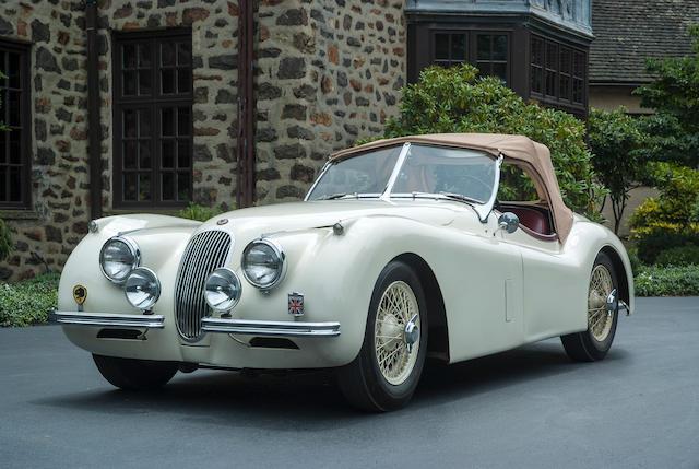1953 Jaguar XK120 OTS  Chassis no. 674111 Engine no. W9122-8