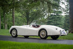 1953 Jaguar XK120 OTS  Chassis no. 674111 Engine no. W9122-8