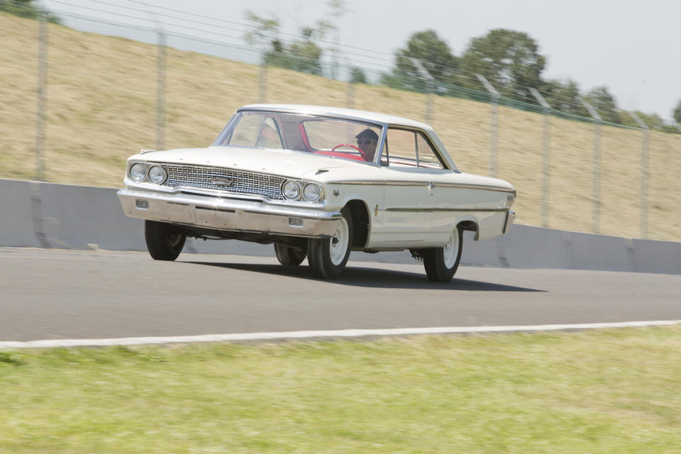 <b>1963 &#189; Ford Galaxie 500 R-Code Factory Lightweight  </b><br />Chassis no. 3N66R144637