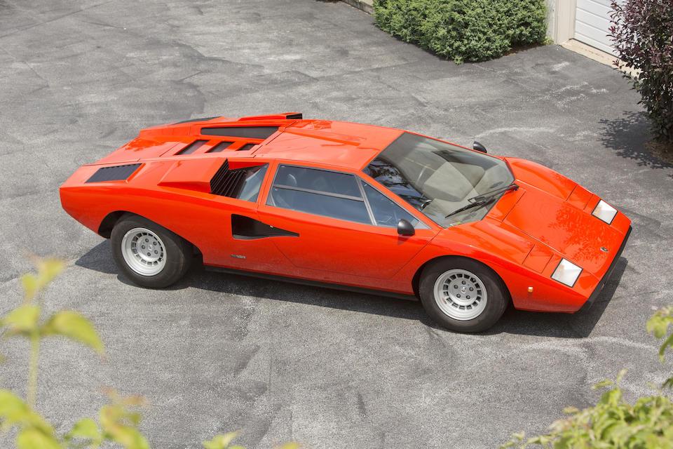 1975 Lamborghini Countach LP400 'Periscopica'  Chassis no. 1120126 Engine no. 1120126