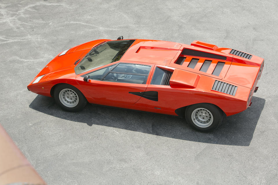 1975 Lamborghini Countach LP400 'Periscopica'  Chassis no. 1120126 Engine no. 1120126
