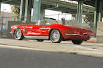 1962 Chevrolet Corvette 327/340bhp  Chassis no. 20867S100504 Engine no. F0132RE