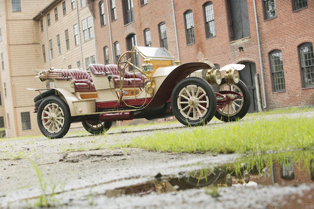 1910 Mercedes 45hp 4-Seat Tourabout Car No. 7686  Engine no. 10288
