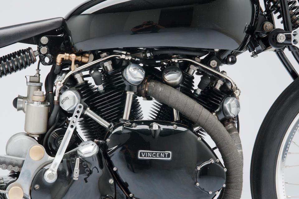 "The ex-Jeff Decker,1952 Vincent Rapide Series C ""Black Lightning"" Special Frame no. R2807 Engine no. F10AB/1/7648"