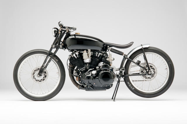 "The ex-Jeff Decker,1952 Vincent Rapide Series C ""Black Lightning"" Special Frame no. R2807 Engine no. F10AB/1/7648"