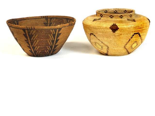 Two California baskets