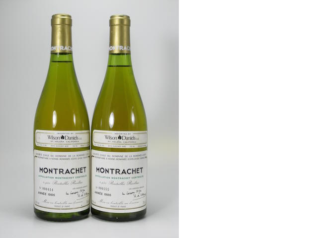 Montrachet, Domaine de la Romanée-Conti 1986 (2)