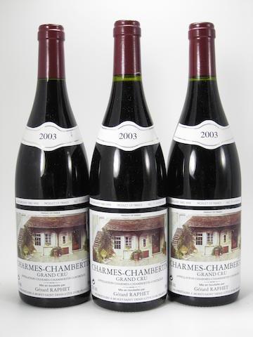 Charmes-Chambertin 2003(12)