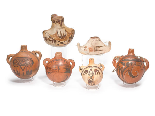 Six Hopi vessels