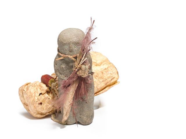 A Pueblo stone effigy
