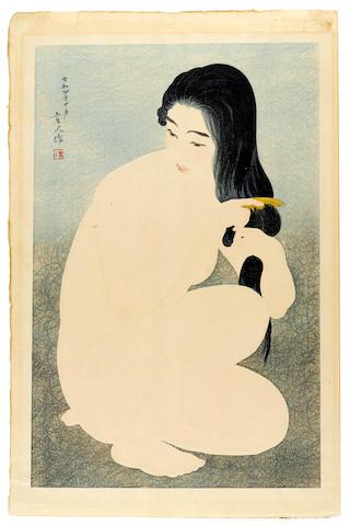 Torii Kotondo (1900-1976) One woodblock print