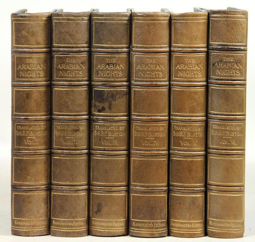 [BURTON, TRANS.] The Arabian Nights. 12 vols.