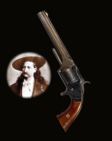 An historic Smith & Wesson No. 2 Old Model Army revolver owned by Wild Bill Hickok