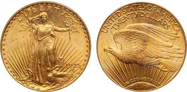 1925 $20 MS66 PCGS