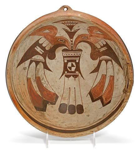 A Hopi polychrome bowl