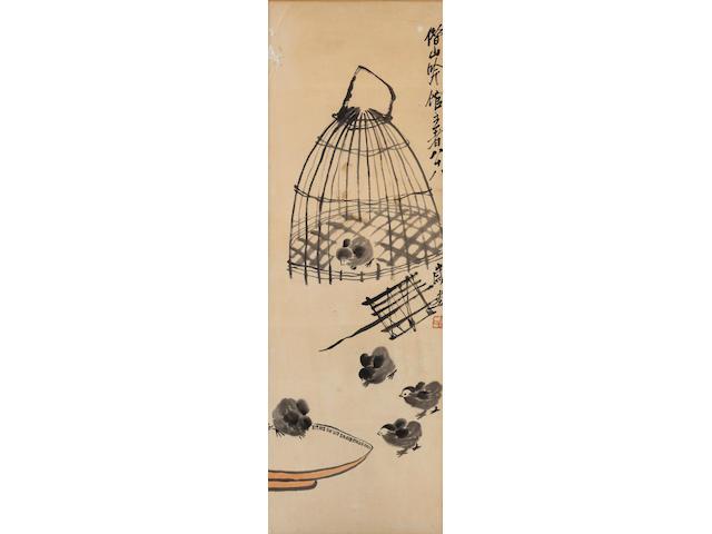 Qi Baishi (1863-1957) Chicks