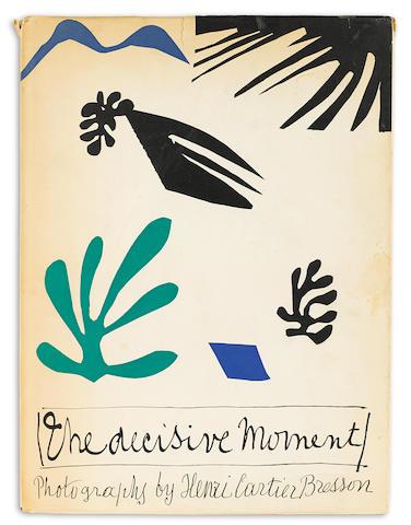 BRESSON, HENRI-CARTIER. 1908-2004. The Decisive Moment. New York: Simon and Schuster, 1952.