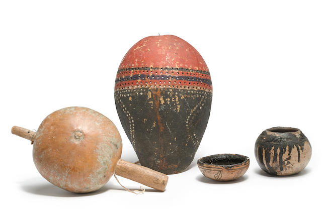Four Pueblo ritual items