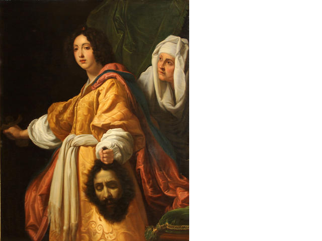 After Cristofano Allori Judith with the head of Holofernes 56 1/2 x 44 1/2in