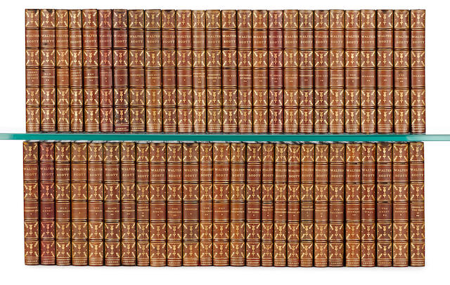 The Works of Walter Scott, 52 volumes, published by Merrill & Baker of London, circa 1900