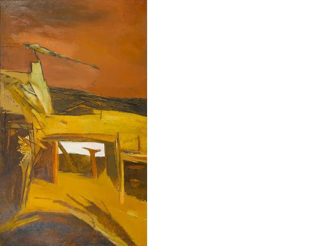 Ram Kumar (India, born 1924) Ruins