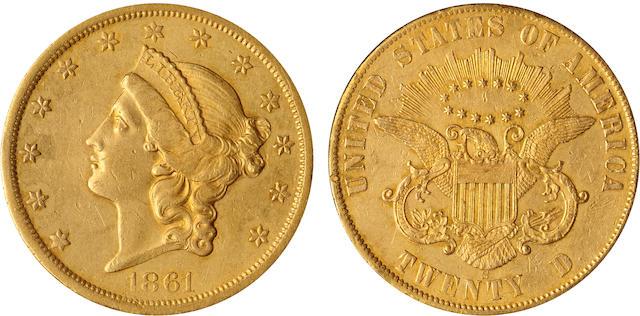 1861-S Paquet $20