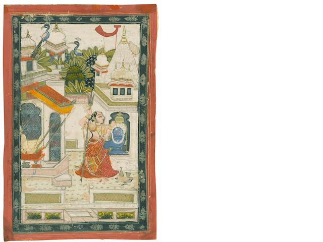 Bhairavi Ragini Bundi, early 19th century