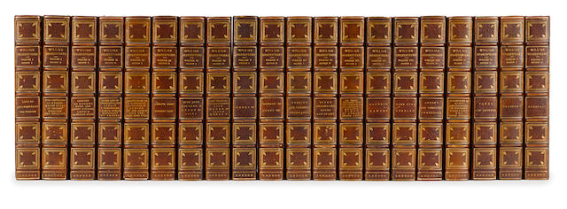 The Works of William Shakespeare, 20 volumes, published by the Grolier Society of London, circa 1880