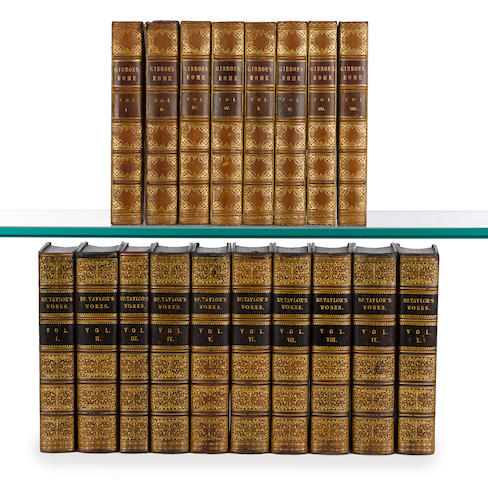 English History, 18 volumes, published in London, 1820s-1850s