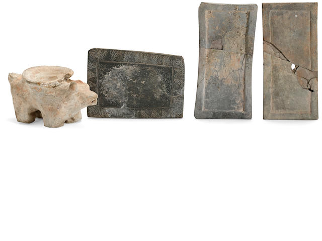 Four Hohokam stone artifacts