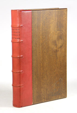 GRABHORN PRESS. WHITMAN, WALT. 1819-1892. Leaves of Grass. New York: [Edwin & Robert Grabhorn for] Random House, 1930.
