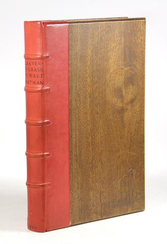 GRABHORN PRESS. WHITMAN, WALT. 1819-1892. Leaves of Grass. New York: [Edwin & Robert Grabhorn for] Random House, 1930.