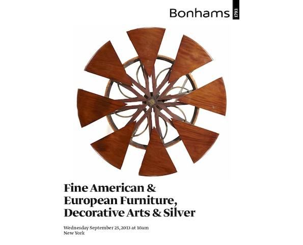 Fine American & European Furniture, Decorative Arts & Silver